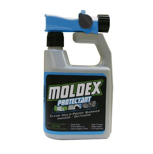 Envirocare Corp Moldex 5230 Protectant  Hose Attachment, 32-Ounce by EnviroCare. $22.38. Soap and water clean up. Indoor and outdoor. Water Based. Dries clear. Prevent mold and mildew growth. Prevent mold and mildew growth. Dries clear. Indoor and outdoor. Water Based. Soap and water clean up.. Save 10% Off!