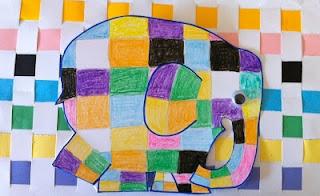 Elmer the elephant patterns