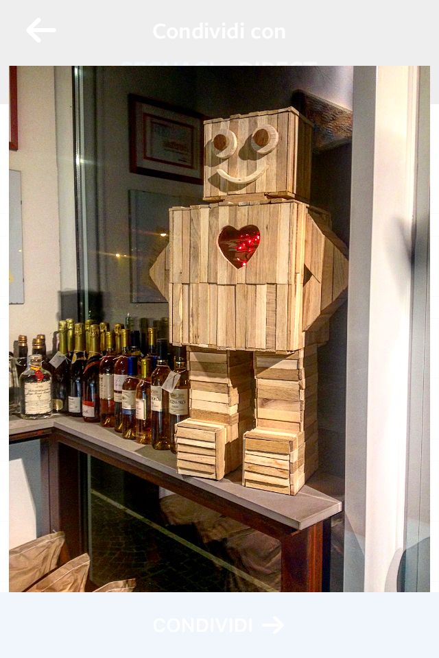 #ruvidodesign robot dal cuore dolce