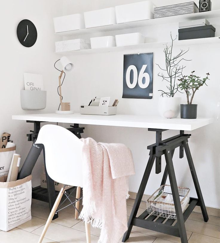 17 Best Ideas About Small Office Decor On Pinterest: 17 Best Ideas About Ikea Desk On Pinterest