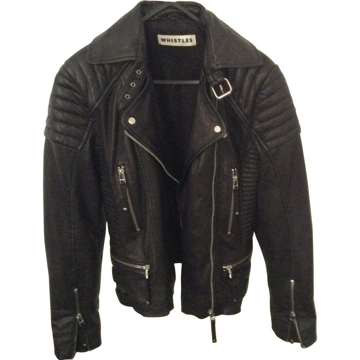 whistles leather jacket - Google Search