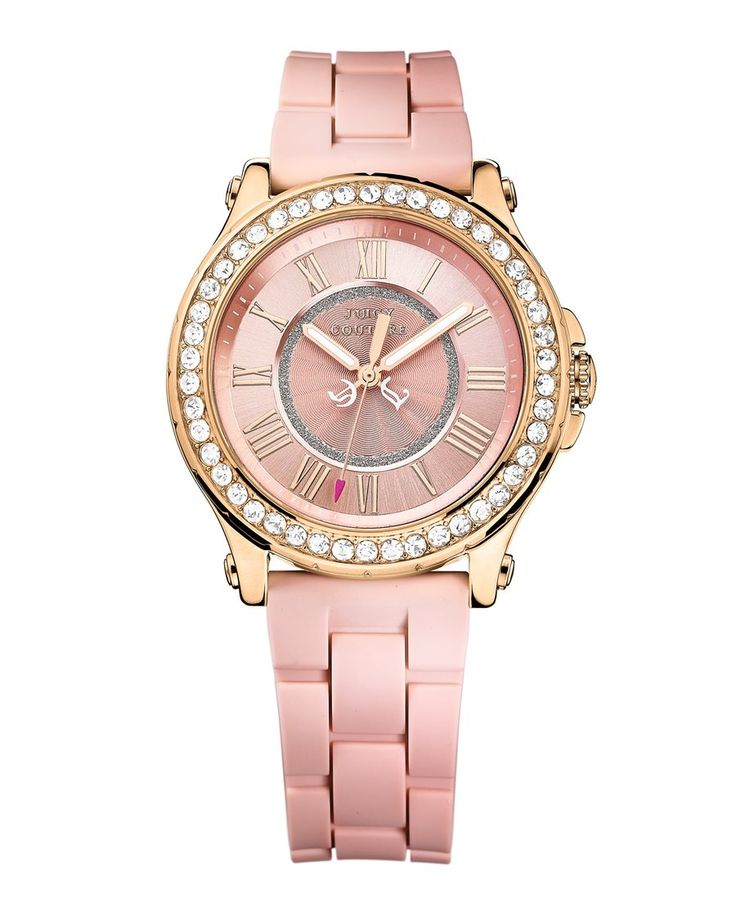 Juicy Couture watch in Pink! :)