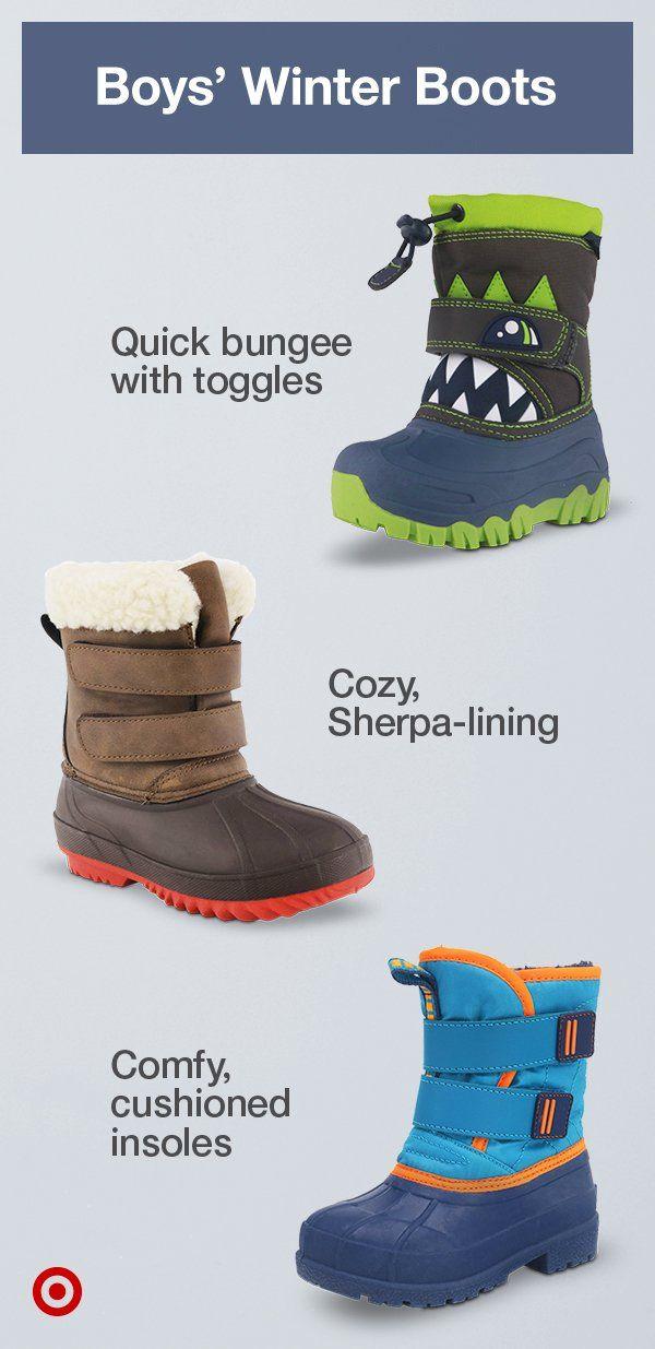 Boys winter boots, Kids winter boots