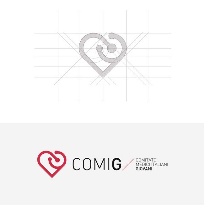 Healthcare logo and branding