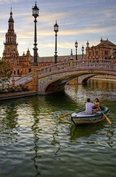 Seville Spain :: Plaza de España..