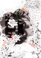 ClickforArt | Artist Page  'Mina' by #Vault49 Limited Edition print available in 3 sizes from £39.00