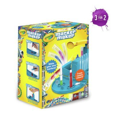 Buy Crayola Marker Maker at Argos.co.uk, visit Argos.co.uk to shop online for Arts, crafts and creative toys