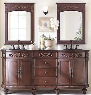 72-Inch and over Vanities #remodel #bathroom http://bathroom.nef2.com/2017/05/03/72-inch-and-over-vanities-remodel-bathroom/ #72 bathroom vanity 72 Double Sink Bathroom VanitiesBathroom Vanity Sale:72 – 79 Inch wide Double Sink Vanity Bathroom Furniture Sink Vanities for large bathrooms: 72 Inch Double Sink Bathroom Vanities– Page 1 Huge selection of 72 Inch Traditional Style Bathroom… Read more