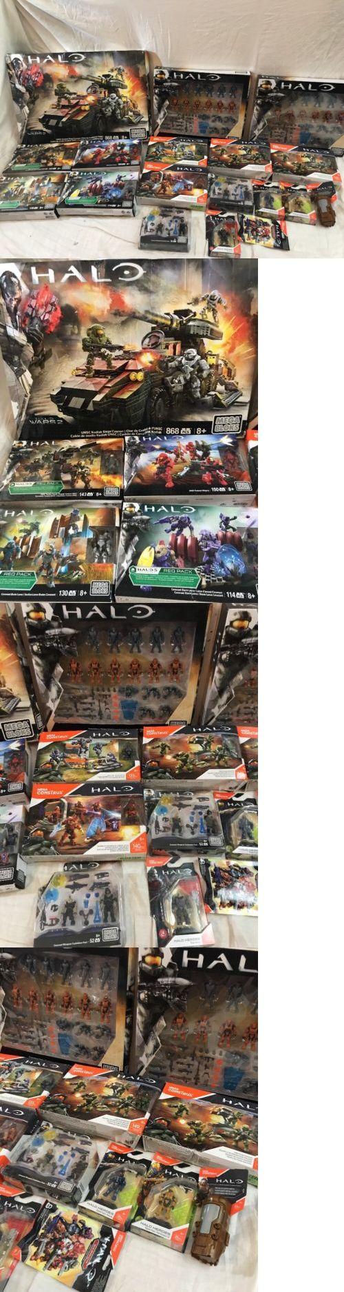 Mega Bloks 52338: Halo Mega Bloks Mega Construx Instant Collection Lot Of 18 Sets Damaged Boxes -> BUY IT NOW ONLY: $260 on eBay!