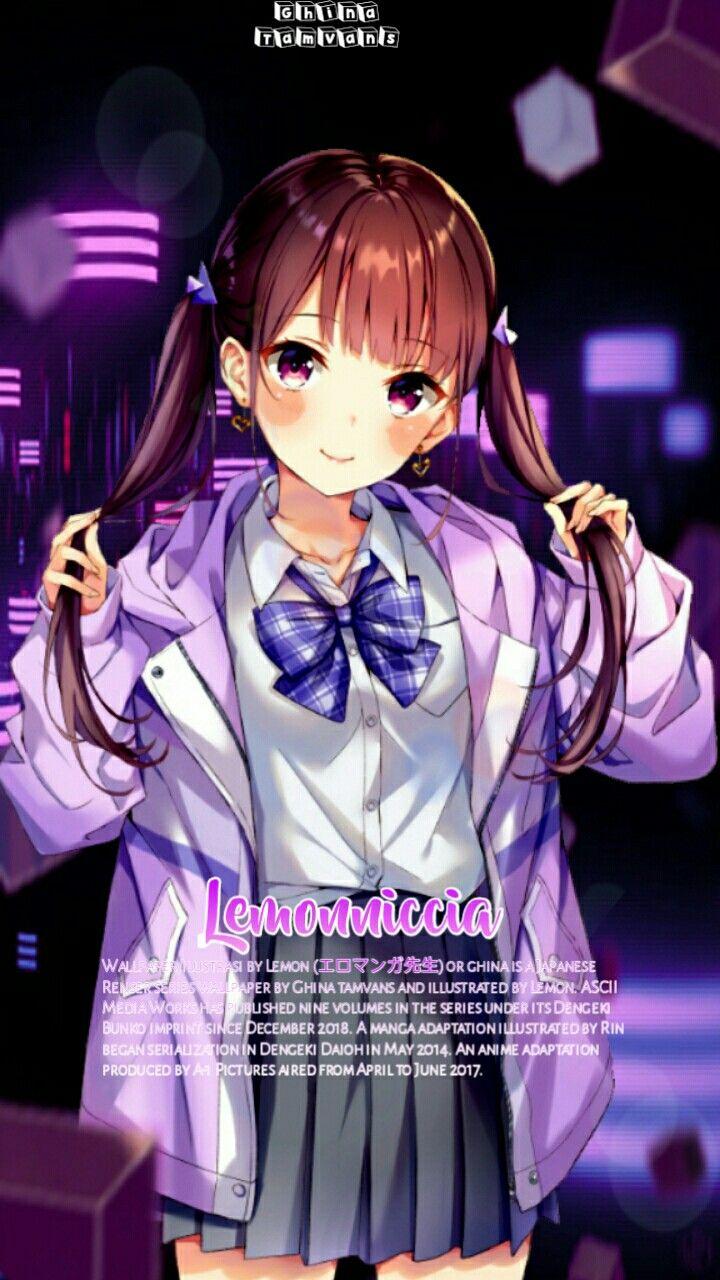Anime Wallpaper Hd Edit Anime wallpaper hd ungu