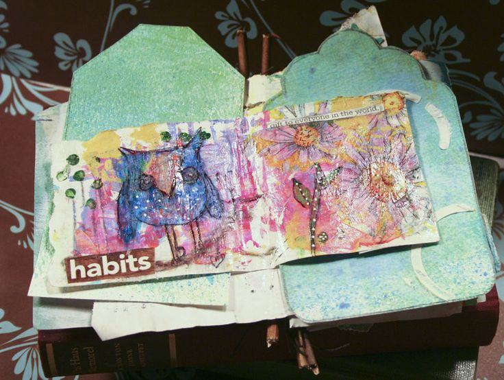 A blog about my garden, mixed media art journal pages, sculpting, ebay auctions and any other thing on my mind.