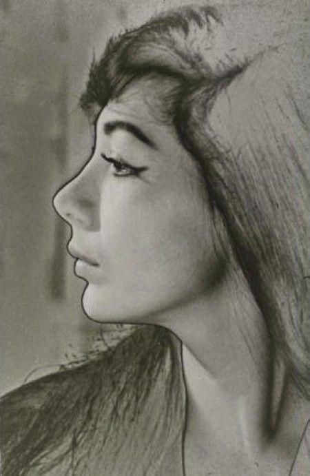 Man Ray, Juliette Gréco, 1956