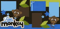 Little Monkey Boy Page Kit