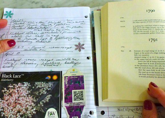 Thomas Jefferson and why garden journals still matter, hundreds of years later ... @Fiskars HQ #sp