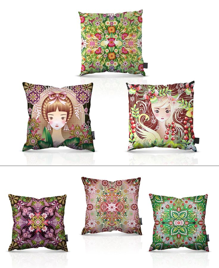 Catalina Estrada » LICENSED PRODUCTS - cushions
