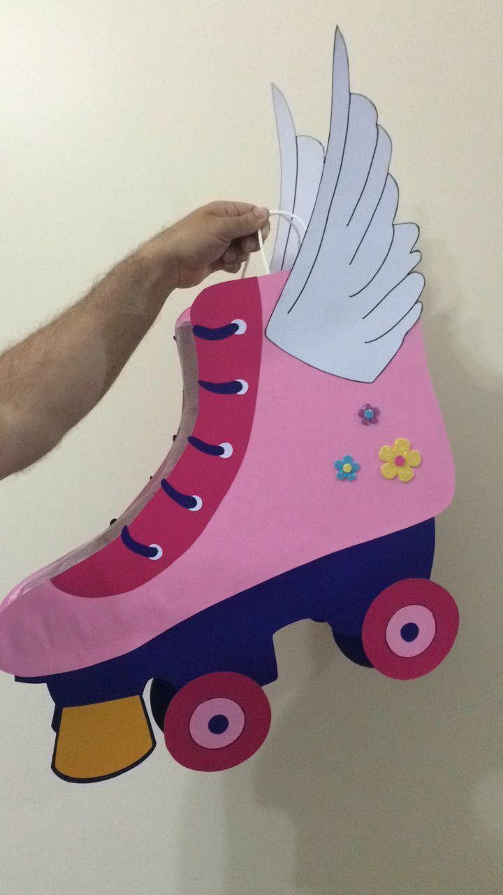 Piñata patines