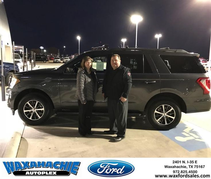 Congratulations Brandi on your #Ford #Expedition from Eric Nelson at Waxahachie Ford!  https://deliverymaxx.com/DealerReviews.aspx?DealerCode=E749  #WaxahachieFord