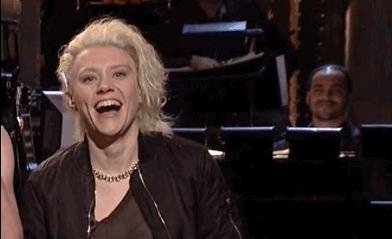 """But Kate McKinnon's is better. 