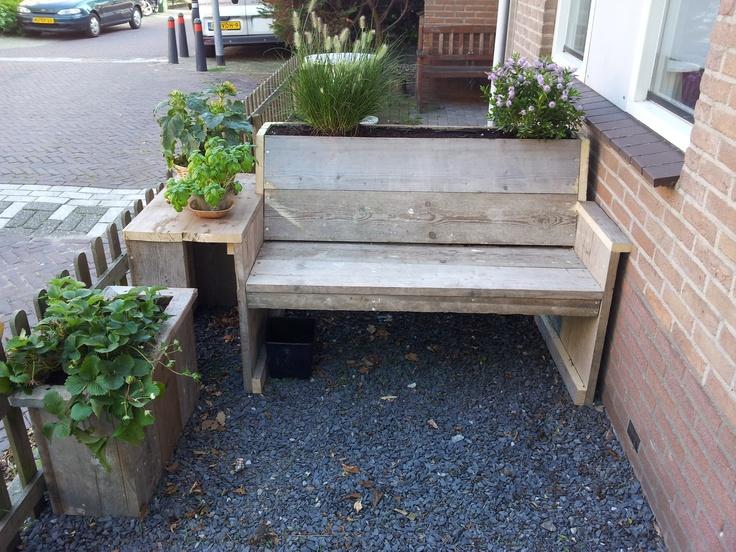 Steiger hout tuin meubel set