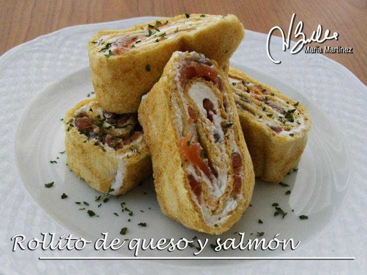 Rollito de queso y salmón con finas hierbas (Crucero) | Recetas para Dukan y más, por Maria Martinez