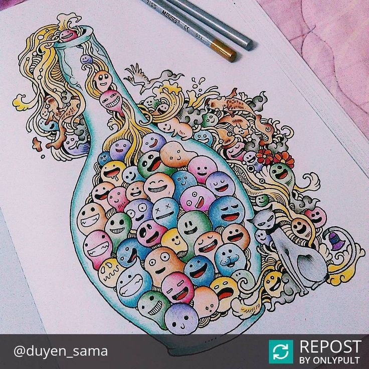 72 Best Images About Doodle Invasion Coloring Book
