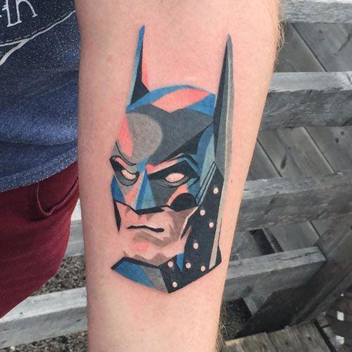 Batman Tattoo on Arm