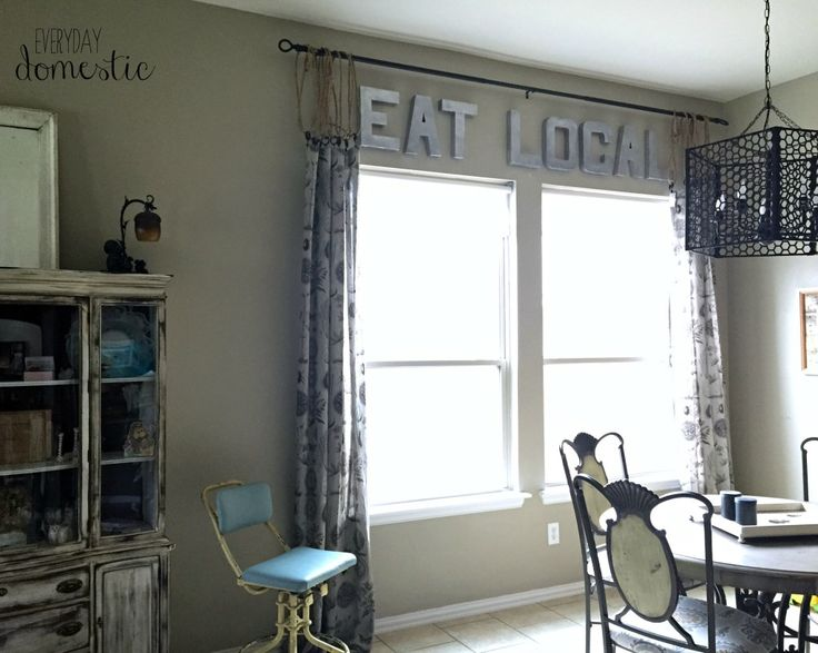 curtains office. simple no sew trick to lengthen curtains everyday domestic i think this is a office