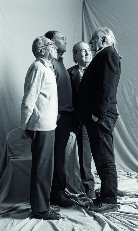 Achille Castiglioni, Vico Magistretti, Marco Zanuso, and Ettore Sottsass.