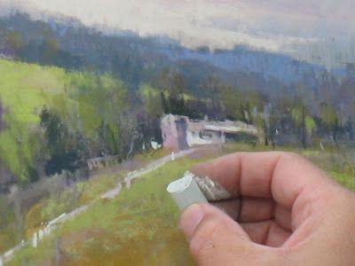 Richard McKinley Pastel Underpainting