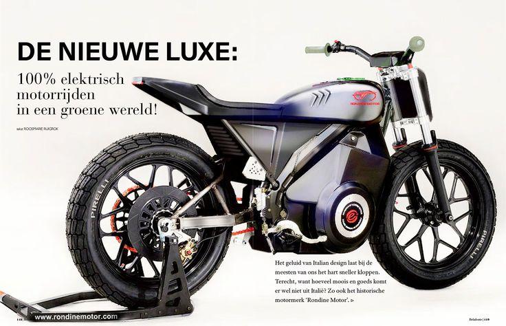 The new prototype Elettra Flat Track #flattrack #electric #motorcycle #luxury #belafonteluxurymagazine