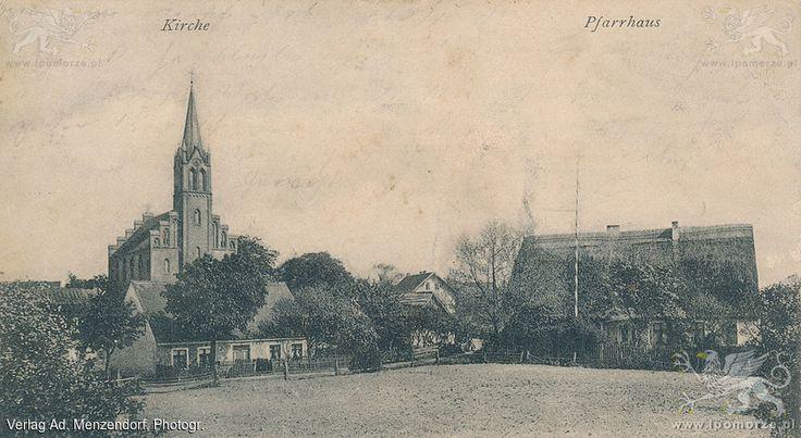 Lubin. Kościół pw. Matki Boskiej Jasnogórskiej. Stan z 1904 roku