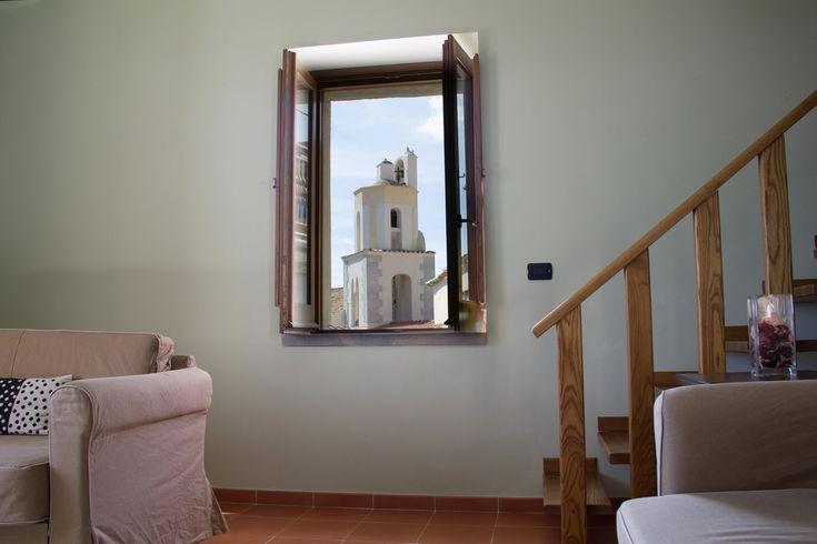 Panorama da una camera delL'ANTICO EPISCOPIO