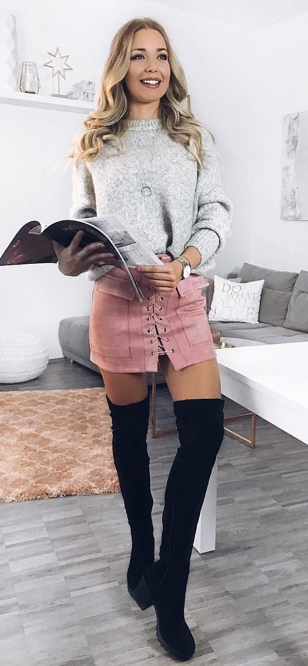 21df20b6cf2 100+ Perfect Outfit Ideas To Finish This Winter With Style