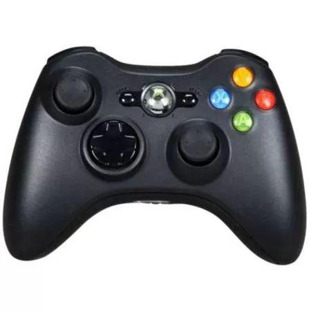 microsoft xbox 360 wireless controller black xbox 360 2996 reg 4996