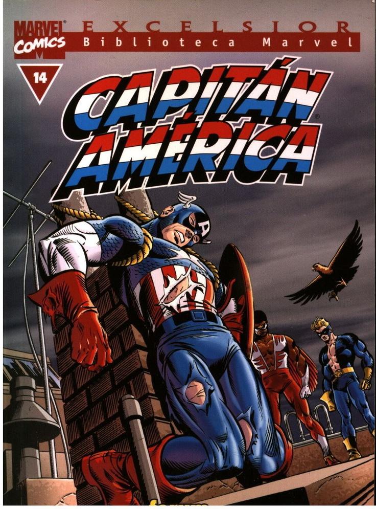Biblioteca Marvel Capitán América  nº 14: Comic Captain America, Comics Captain America, Marvel Comic, Comic Books, Comic Covers