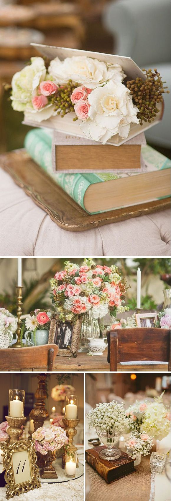 1000 images about wedding decor ideas on pinterest - Decoracion boda vintage ...