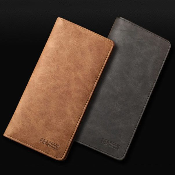 awesome Men's Bifold Leather Credit Card Holder Breast Pocket Checkbook Wallet Purse   Check more at http://harmonisproduction.com/mens-bifold-leather-credit-card-holder-breast-pocket-checkbook-wallet-purse/