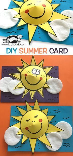 DIY SUMMER CARD
