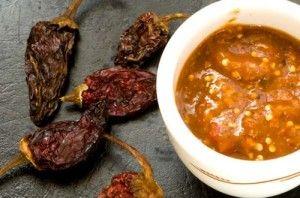 Salsa de Chile Morita Perfecta para acompañar los típicos tacos al pastor, pero también es ideal paraservir una rica carne asada