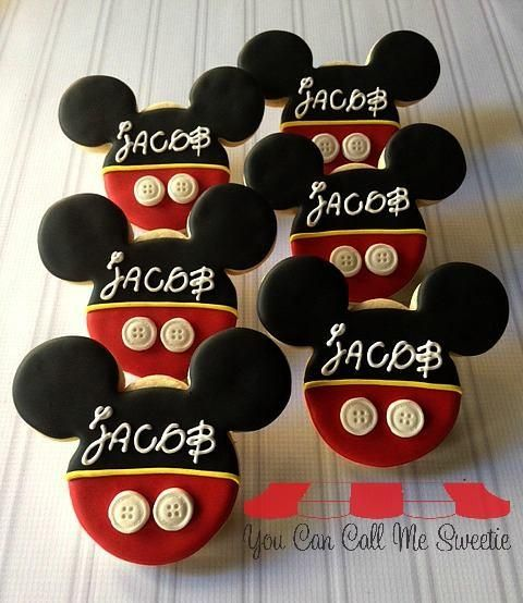 Mickey for Jacob   Cookie Connection
