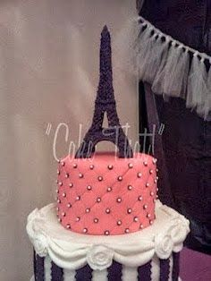 How To Make A Fondant Eiffel Tower Cake Topper