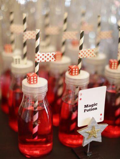 Magic Potion Drinks {Magic Party}