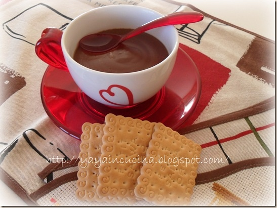 Cioccolata in Tazza al Microonde