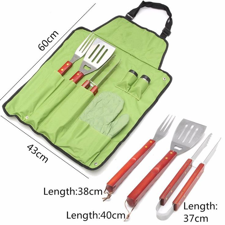 Stainless Steel 7Pcs/set BBQ Grill Tools Set Barbecue Accessories Aprons Hard Wood Handles Spatula Caster Fork Gripping Tongs at http://stores.howgetrid.net/?products=stainless-steel-7pcsset-bbq-grill-tools-set-barbecue-accessories-aprons-hard-wood-handles-spatula-caster-fork-gripping-tongs