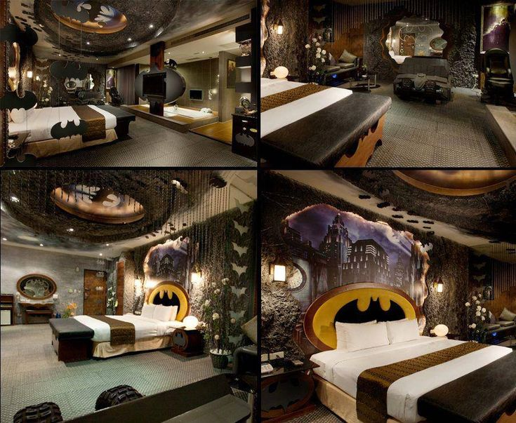 batman bedroom heroes and villians pinterest