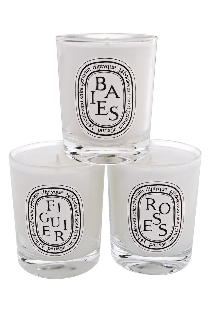 This collection of three mini candles by diptyque brings for Where to buy diptyque candles