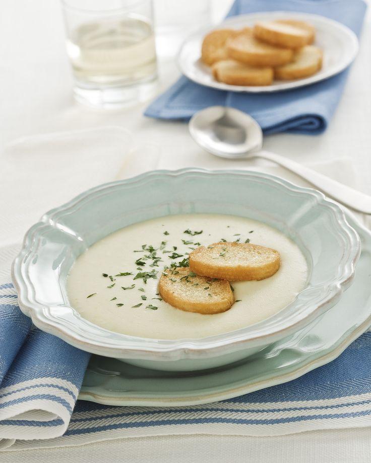 Zuppa di patate e porri