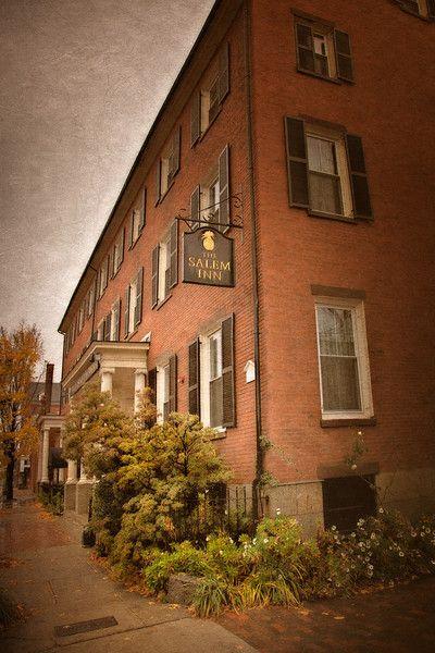 The Salem Inn, Salem, Massachusetts.