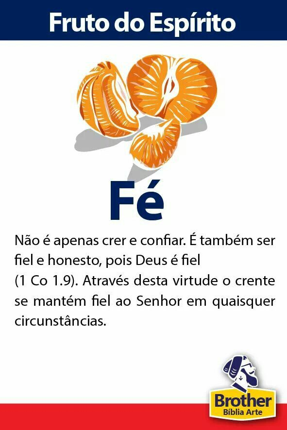 Fruto do Espírito - fé