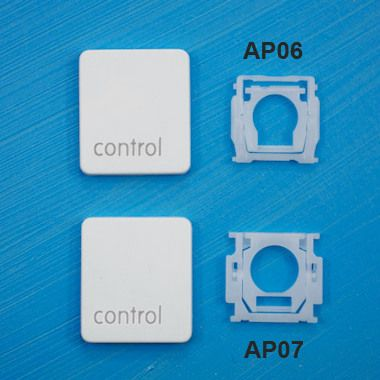 "Touche ""control"" pour MacBook Unibody Blanc"